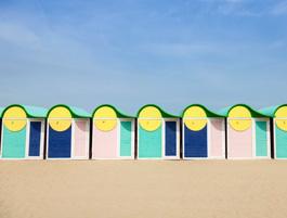 Strand bij Duinkerken